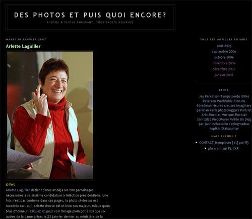 Des Photos Et Puis Quoi Encore ?