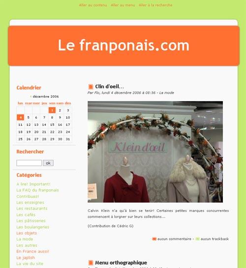 Le franponais.com