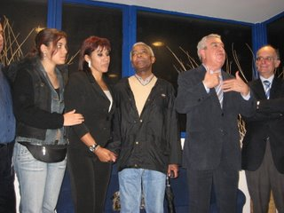 Neta, Filha e Irmão de Matateu com Fernando Correia e Cabral Ferreira. Fotografia: LSO