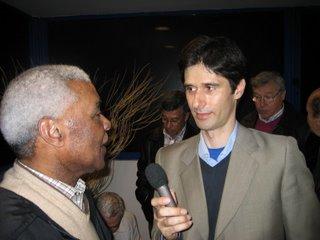 Vicente Lucas responde a Luís Silva do Ó. Foto:BGP