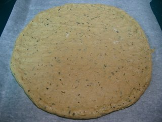 Herbed Whole Wheat Pizza Crust