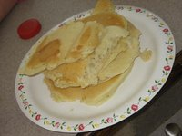 Sloppy pancakes by Uncle Cowboy and Car