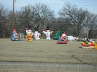 A parade in Collinsville