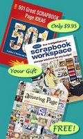 Scrapbook craft books