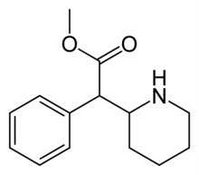 Methylphenidate molecule