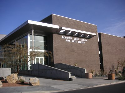 Photo of The Eccles Art Gallery at Dixie State College