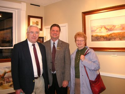 Roland Lee Art Collectors Charles and Jeanne Kasper from Madison Wisconsin