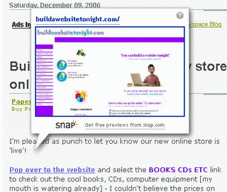 buildawebsitetonight snap Add mini website snapshots to your site!
