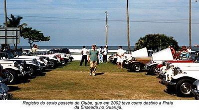 MPs reunidos em Guarujá, no litoral de São Paulo, em 2002.
