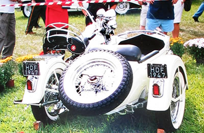 Harley Davidson 1200 Flat Head 1947.
