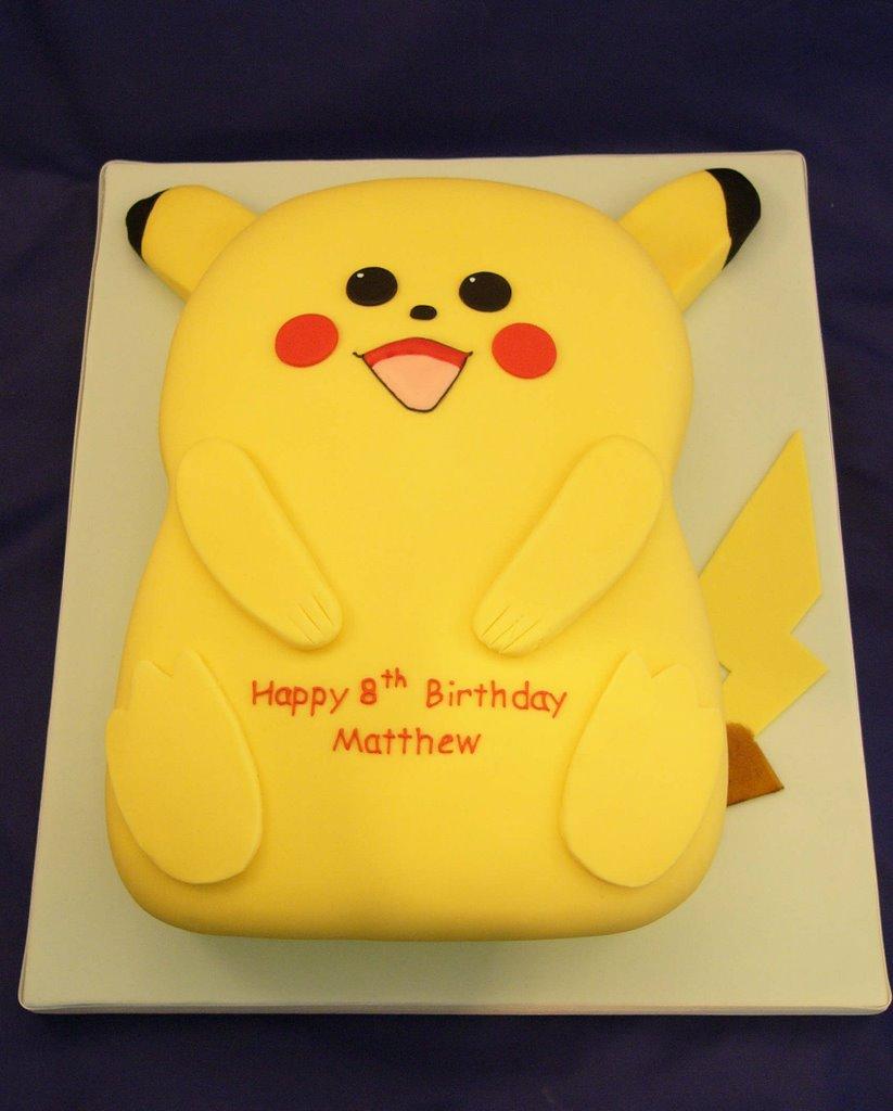 Pikachu Cake London