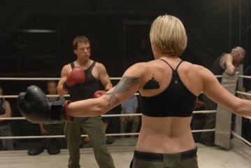 Katee Sackhoff boxing
