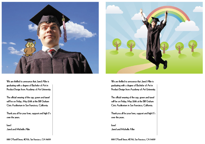Graduation Announcements – Funny Graduation Invitation