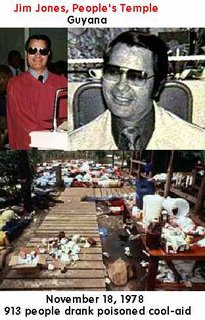 jonestown guyana A Urantia, 9/11Truth.org & CIA Mind Control Technology Development Timeline