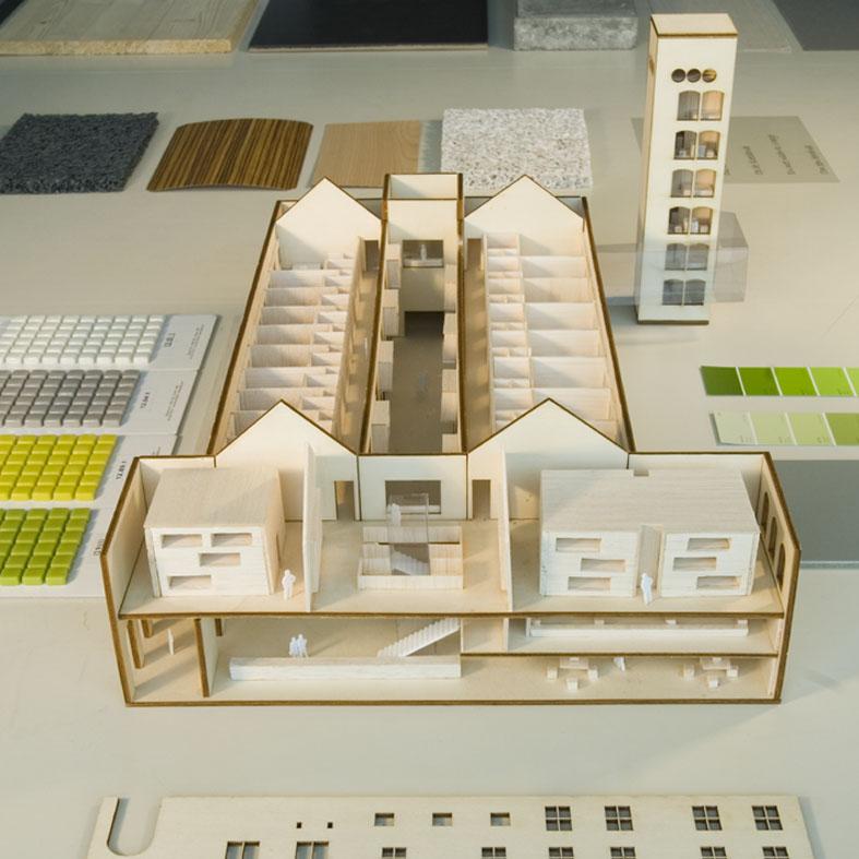 De interieur maquette for Interieur design hbo