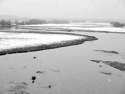 Rio Grande - Snow