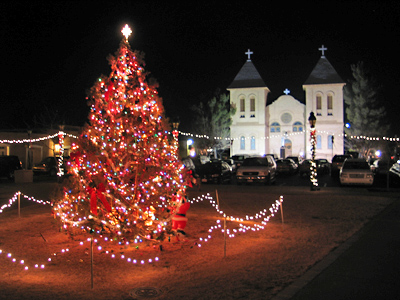 Mesilla Plaza - Christmas