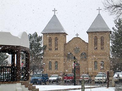 San Albino - Snowing