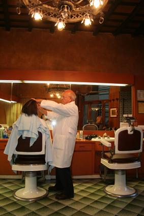 frisering av skjegg