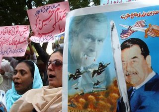 protestas por ejecución de Sadam