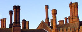 Hampton Court chimneypots