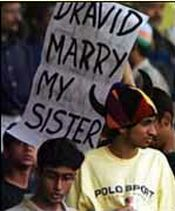 Oh Yeah Dravid! Marry his sister, get a dowry.