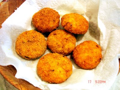 Cheese Veggie Potato Cutlet