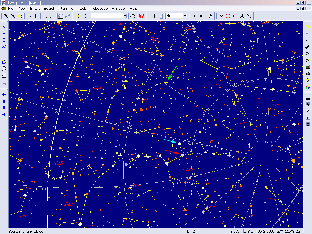 북두칠성 (큰곰자리): Ursa Major