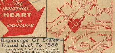 Ensley is the heart of the Birmingham's industrial area