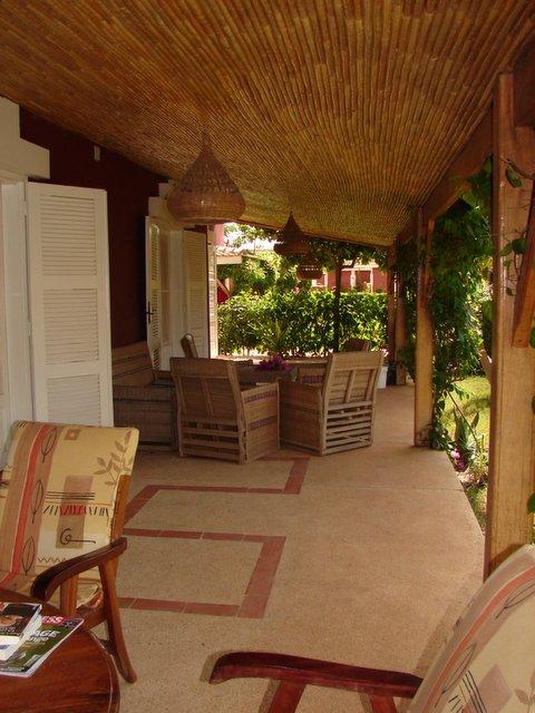 House in senegal le jardin for Le jardin dakar