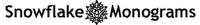 Snowflake Monogram font
