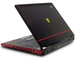 Windows Vista Ferrari Laptop from Microsoft