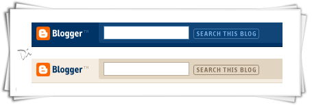 Hide Blogger Search Toolbar