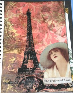 She dreams of Paris