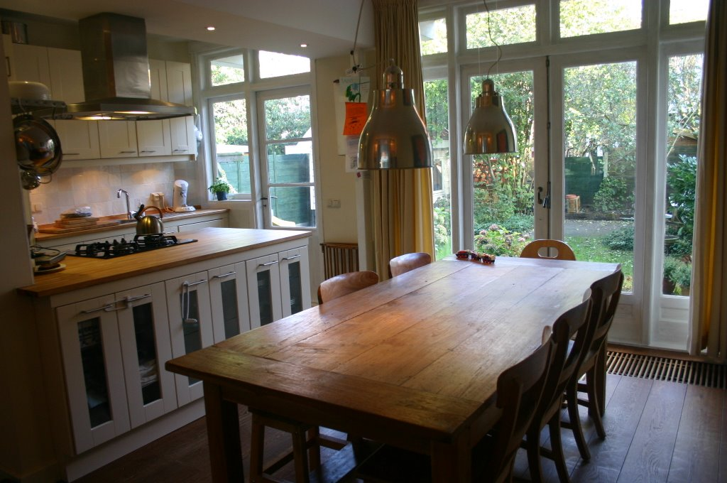 Koningin wilhelminalaan 217 voorburg te koop: keuken eetkamer