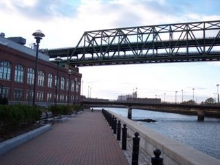 photo of the Mystic Tobin Bridge from Building 114