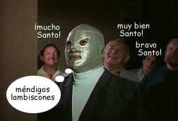 santo y blue demon contra los mounstruos