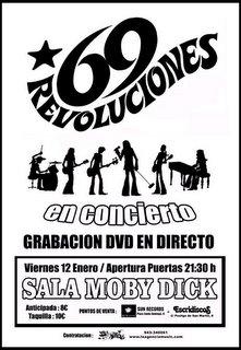 69 REVOLUCIONES, NUEVO DVD (I)