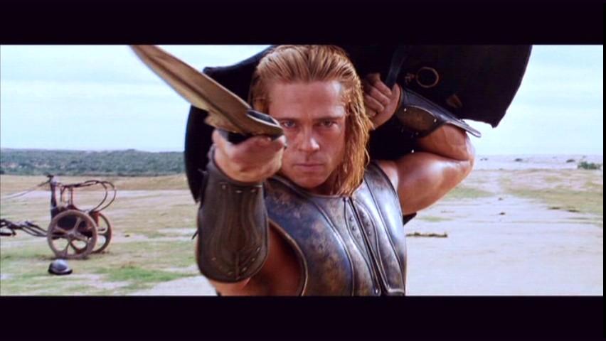 Achilles Brad Pitt dandiddisdothat: 1/6 A...