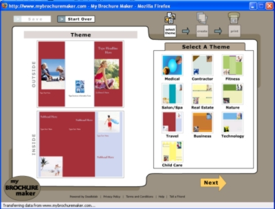Tech4teachers brochure maker for Brochure maker online