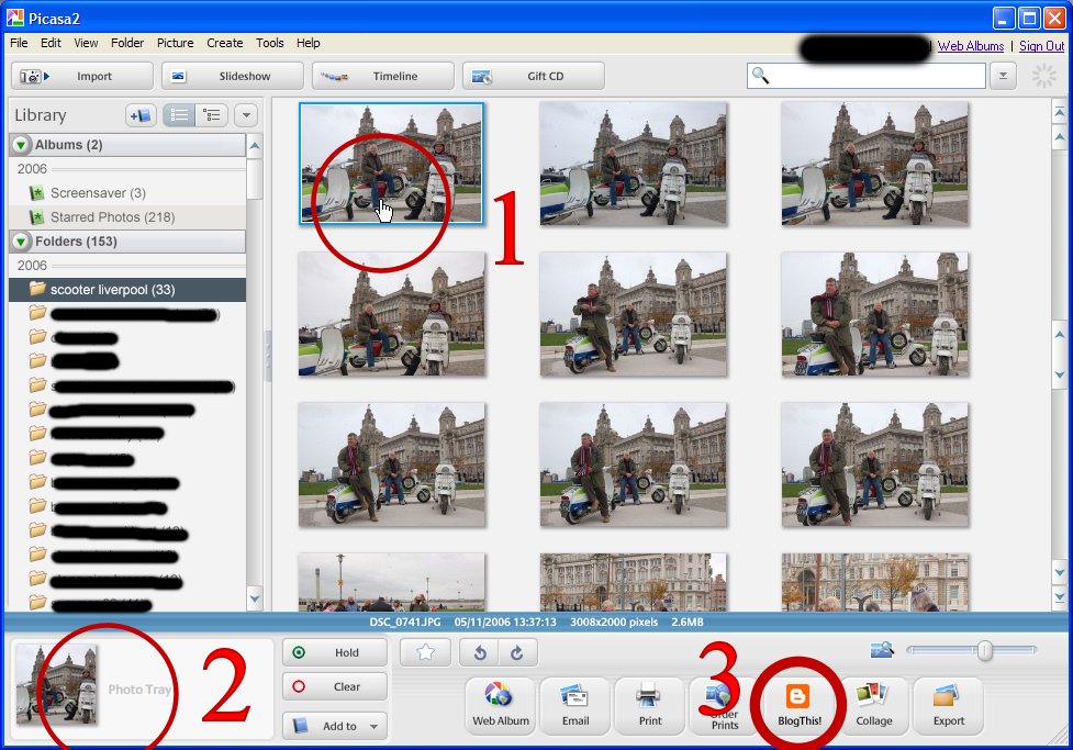 Fotoplayer 2.0 flash slideshow for picasa 31
