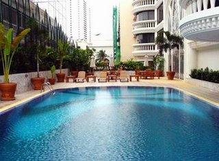 Swimming Pool President Solitaire Hotel Bangkok