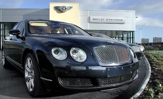 Bentleys Arrive at UK Flagship Showroom