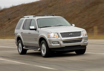 FORD To Showcase record breaking hydrogen fuel cell powered exploreR at 2006 LA Auto Show