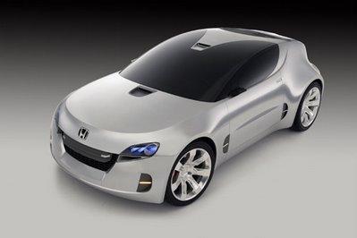 Honda Concept Car Shines Brightly at Los Angeles Auto Show