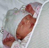 newborn baby knit cap