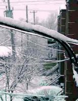 Snow Electric Wires