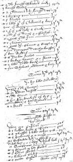 Harte inventory, 1615, p. 132