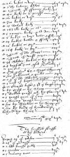 Harte inventory, 1615, p. 131