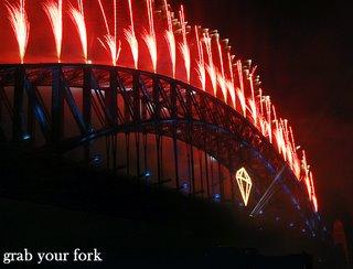 Sydney nye midnight fireworks